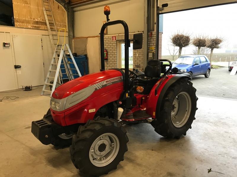 McCormick GM50 afgeleverd in de tuinbouw!
