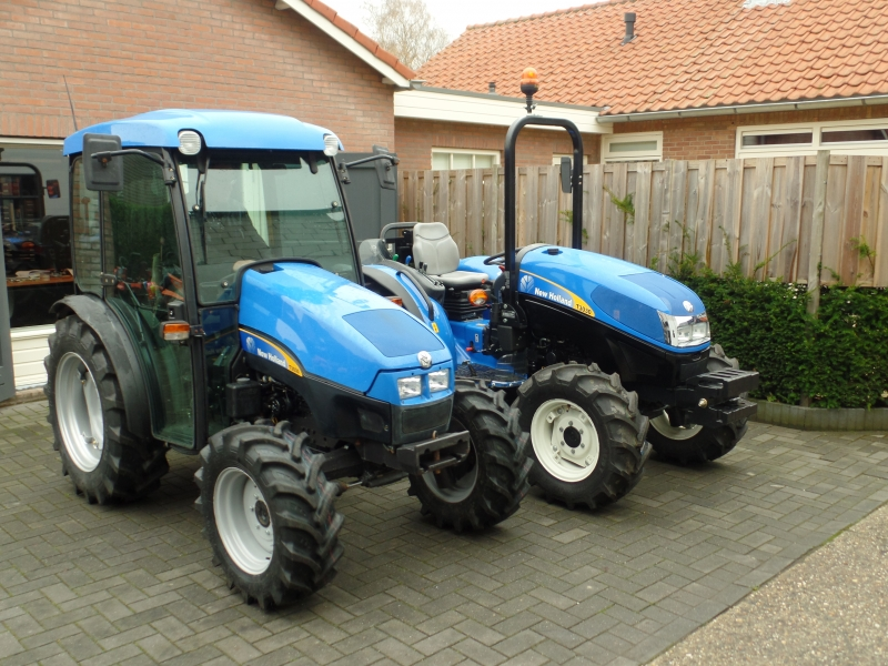New Holland T3030 en New Holland TCE50 geleverd