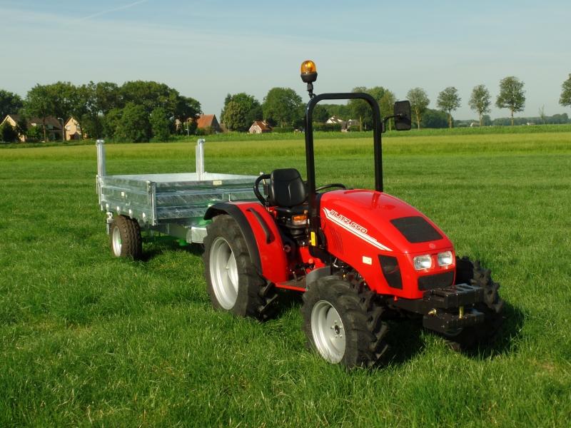 Valpadana NL levert Blitz 550 compleet met kipper