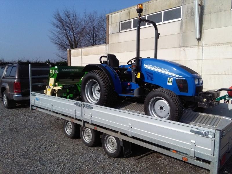 Blitz 450 geleverd in het blauw!